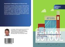 Bookcover of Organization & Management of School Units