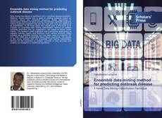 Bookcover of Ensemble data mining method for predicting outbreak disease