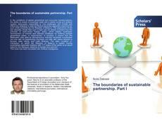 Capa do livro de The boundaries of sustainable partnership. Part I