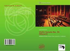 Bookcover of Violin Sonata No. 36 (Mozart)