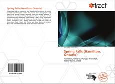 Capa do livro de Spring Falls (Hamilton, Ontario)