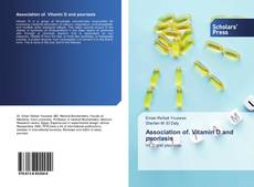 Couverture de Association of. Vitamin D and psoriasis