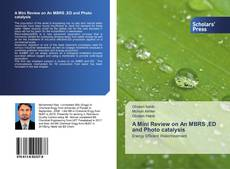 Couverture de A Mini Review on An MBRS ,ED and Photo catalysis