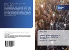 Capa do livro de Design & Development of Secure Smart Metering Systems