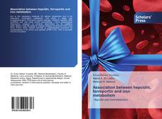 Capa do livro de Association between hepcidin, ferroportin and iron metabolism