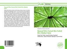Nawaf Bin Faisal Bin Fahd Bin Abdul Aziz kitap kapağı