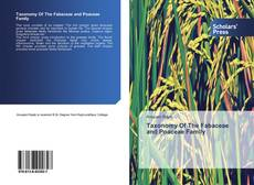 Buchcover von Taxonomy Of The Fabaceae and Poaceae Family