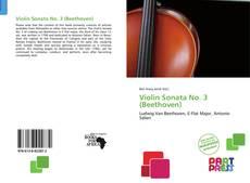 Обложка Violin Sonata No. 3 (Beethoven)