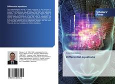 Bookcover of Differential equations