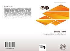 Buchcover von Senile Team