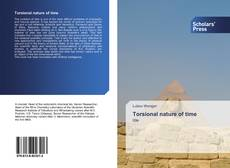 Bookcover of Torsional nature of time