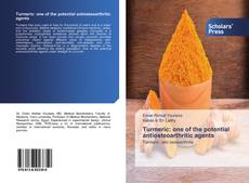 Bookcover of Turmeric: one of the potential antiosteoarthritic agents