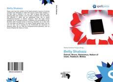 Couverture de Betty Shabazz