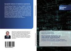 Bookcover of Asymptotic behavior of statistical experiments