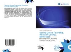 Buchcover von Spring Grove Township, Houston County, Minnesota
