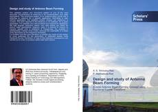 Couverture de Design and study of Antenna Beam Forming