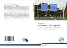 Bookcover of Interstate 73 in Virginia