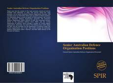Buchcover von Senior Australian Defence Organisation Positions