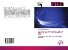 Bookcover of Spring Gully Conservation Park