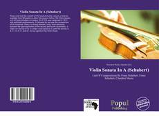 Couverture de Violin Sonata In A (Schubert)