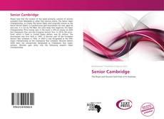 Buchcover von Senior Cambridge