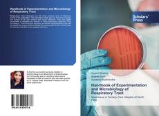 Bookcover of Handbook of Experimentation and Microbiology of Respiratory Tract