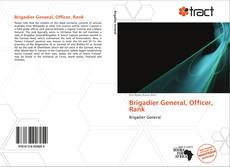 Brigadier General, Officer, Rank kitap kapağı