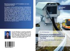 Bookcover of Electrical properties of ϒ-irradiation on nano composite ferrites