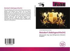 Buchcover von Betzdorf (Adelsgeschlecht)