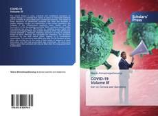 Bookcover of COVID-19 Volume III