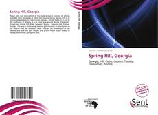 Bookcover of Spring Hill, Georgia