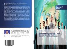 Bookcover of Business Demography and Environmental Studies