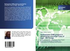 Portada del libro de Hydropower DAM project in developing countries Case of Inga - DR Congo
