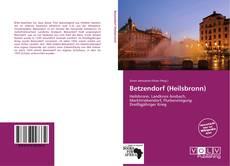 Обложка Betzendorf (Heilsbronn)