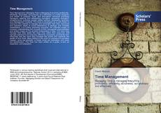 Portada del libro de Time Management