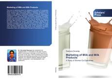 Capa do livro de Marketing of Milk and Milk Products