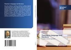 Theories in language and literature kitap kapağı