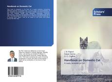 Bookcover of Handbook on Domestic Cat