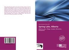 Buchcover von Spring Lake, Alberta