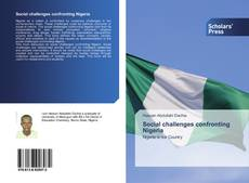 Bookcover of Social challenges confronting Nigeria