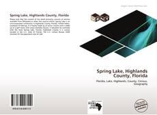 Capa do livro de Spring Lake, Highlands County, Florida