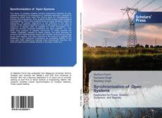 Bookcover of Synchronization of Open Systems