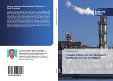 Bookcover of Human Resource Development Practices in Coal Company