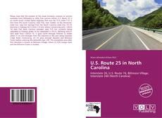 U.S. Route 25 in North Carolina kitap kapağı