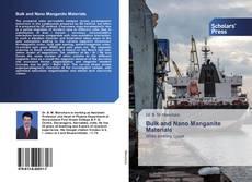 Bookcover of Bulk аnd Nano Manganite Materials