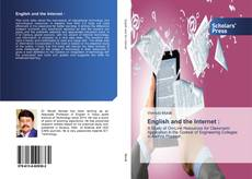 Bookcover of English and the Internet :