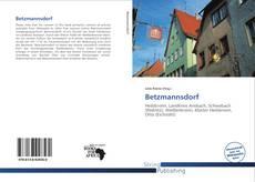 Portada del libro de Betzmannsdorf