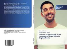 Capa do livro de The Use of Intensifiers in the Language of Advertising in English Media