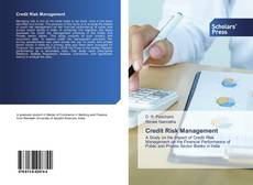 Portada del libro de Credit Risk Management