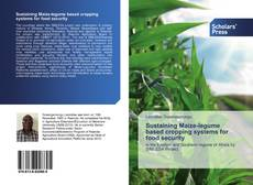 Capa do livro de Sustaining Maize-legume based cropping systems for food security